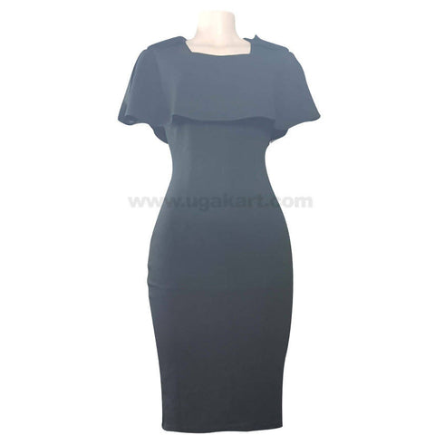 Black Fit Dress For Women