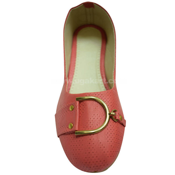 Pink Ballet Flat Shoe For Women