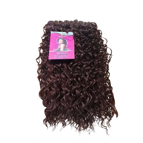 Jerry Curly Hair Weave_3Pc_Brown