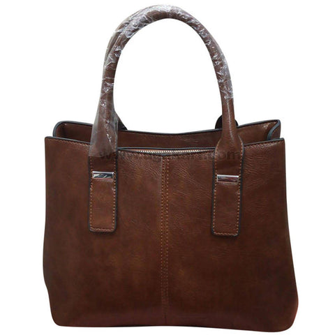 Ladies Coffee Brown Hand Bag