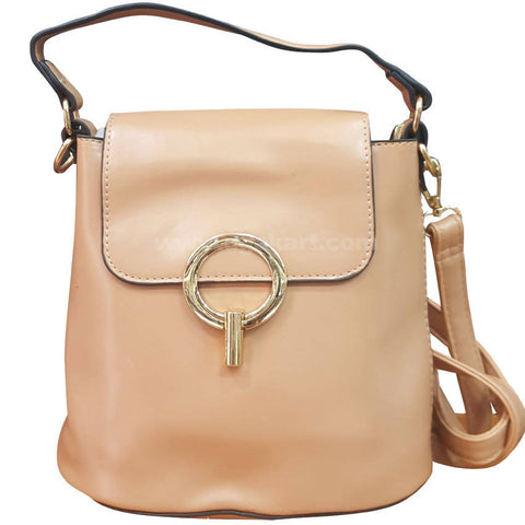 Q Cream Womens Cross Bag