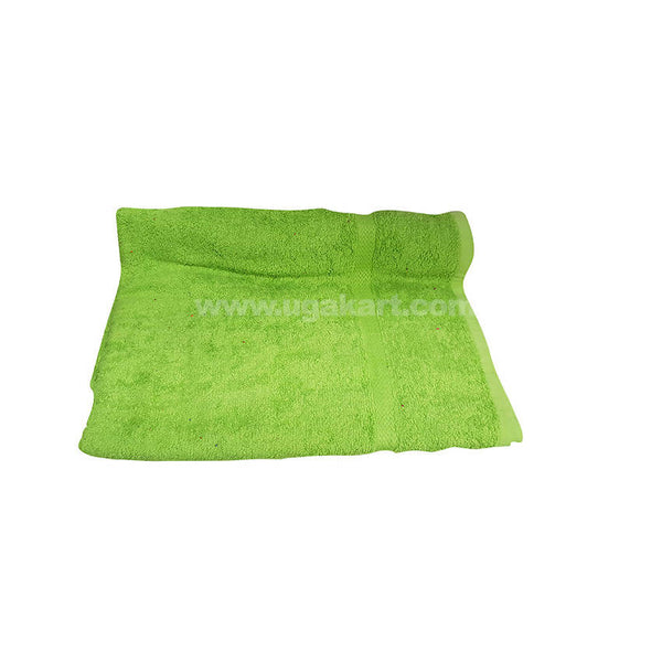 Bath Towel Plan Parrot Green-Size 70X140Cm