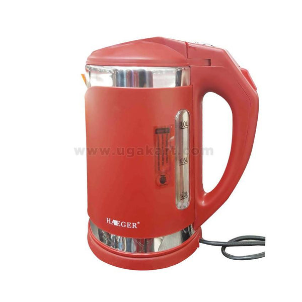 Haiger Electric Kettle 2ltr-Red