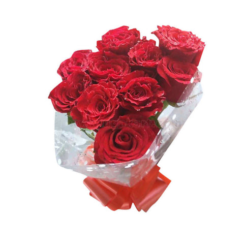 Charming Red Rose Bouquets