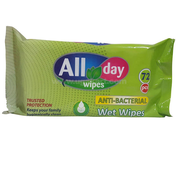 All Day-Wet Wipes(72 pcs)