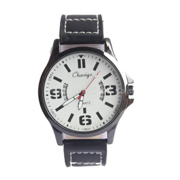 Men's Chaxigo Quartz Watch - Black