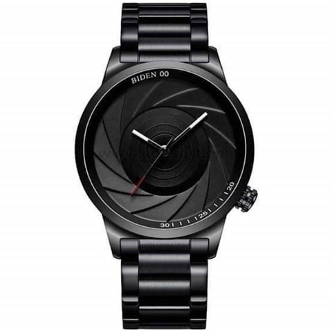 BIDEN Black Analog Men's Watch