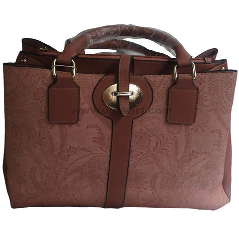 Coffee Brown Hand Bag