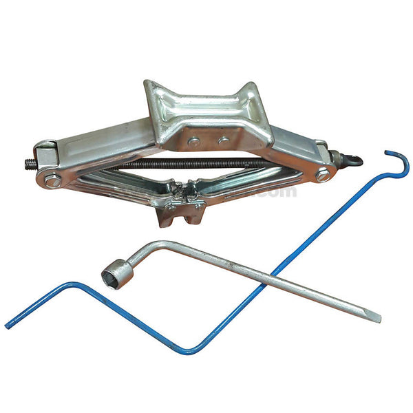 1 Ton Scissor Car Jack With Handle and Spanner