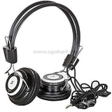 RXD Wired Black Overhead Headphones