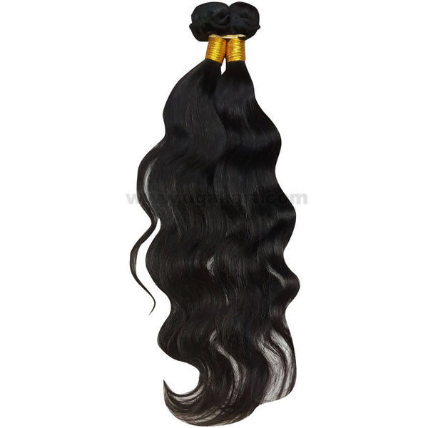 Human Hair Jerry Loose Weave_2Pc_Black