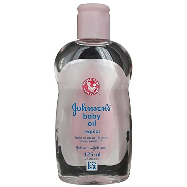 Johnsons Baby Regular Oil -125ml