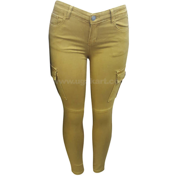 Women's Side Pocket Chino Pant
