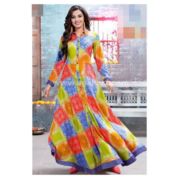1 PC Dress Multicolour Dress - Size 3XL