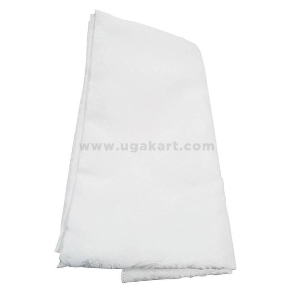 Dinning Table Cover Big Size With 12 Chairs-White