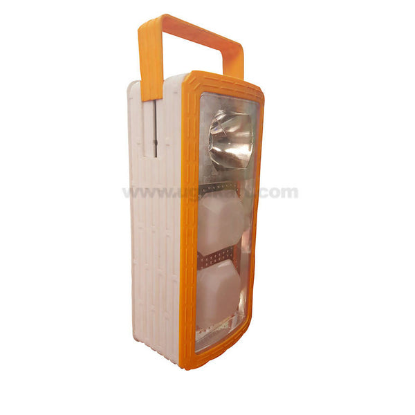 Orange Led Emergency Light With Torch