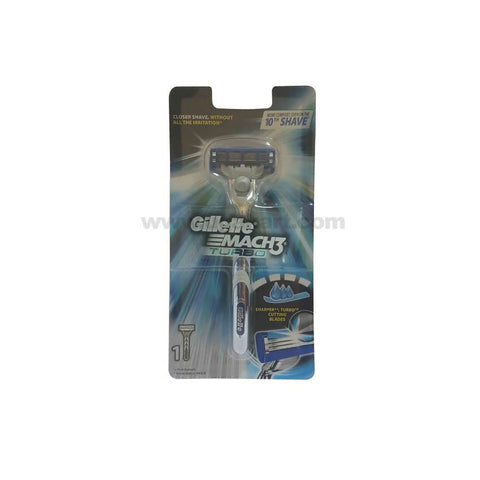 Gillette MACH3 Turbo Razor with Blade