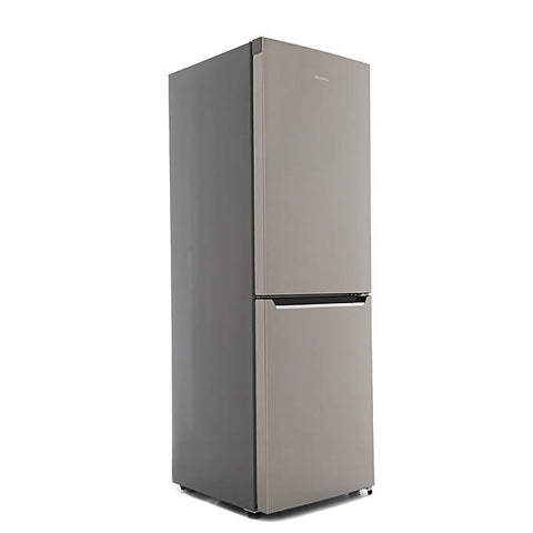 Hisense 295L Double Door Bottom Mount Freezer - Silver