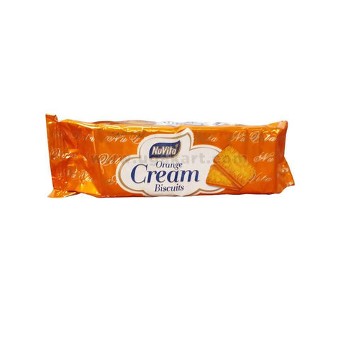 NUVITA Orange Cream Biscuits 75gm