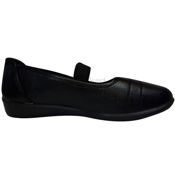 Black Single Belt School Shooes For Girls