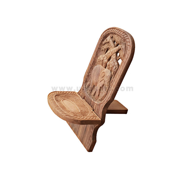 art designed wooden chair small size