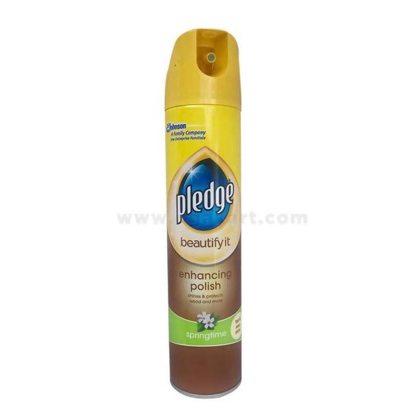 Johnson Pledge Enhancing Polish (Springtime) 300ML