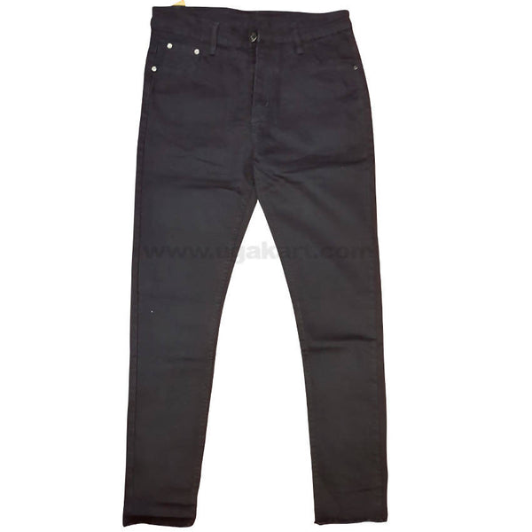 Men's Black Jean Trousers
