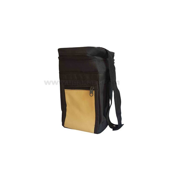 Black And Cream Lunch Box Bag
