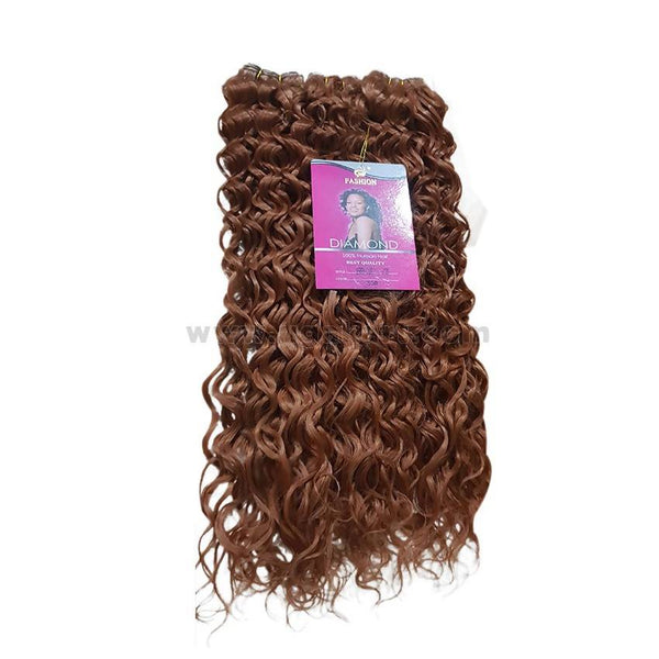 Jerry Curly Hair Weave_3Pc_Copper Brown