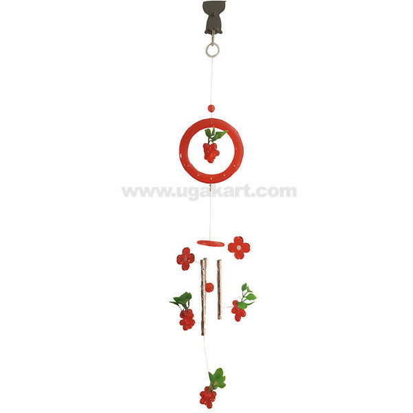 Wind Chime Hanger Red