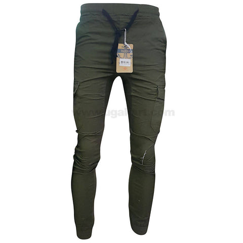 Cotton Crocodile Color Cargo Pants For Mens