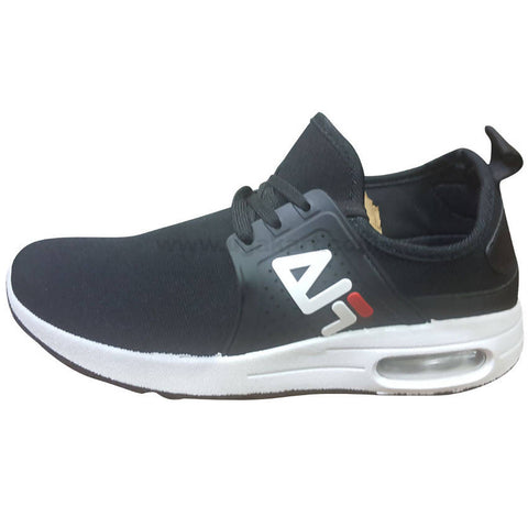 FILA Men's Black & White Sneaker
