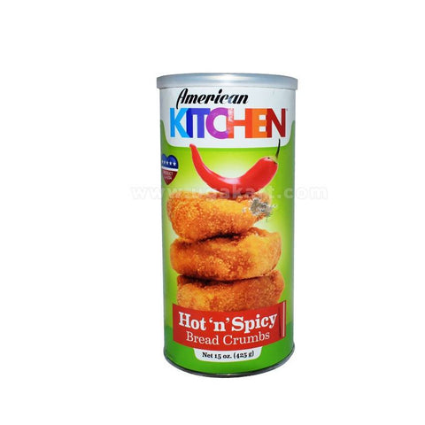 American Kitchen Hot 'N' Spicy Bread Crumbs 425g