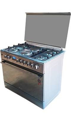9042ERF 4 Gas Burner Cooker + 2 Electric Plate + Electric Oven