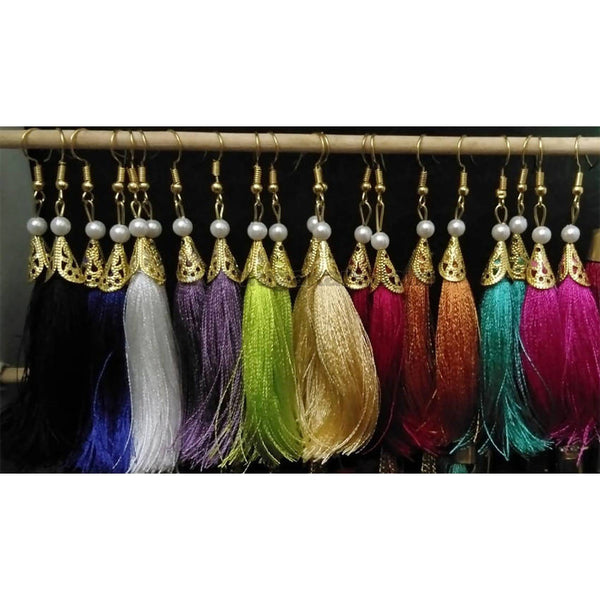 Thread tussel earing pick any 2 pair