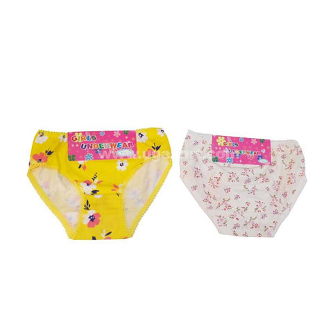Underware/Panties With Big Fitting For Girls_6Pc_3Yrs To 14Yrs