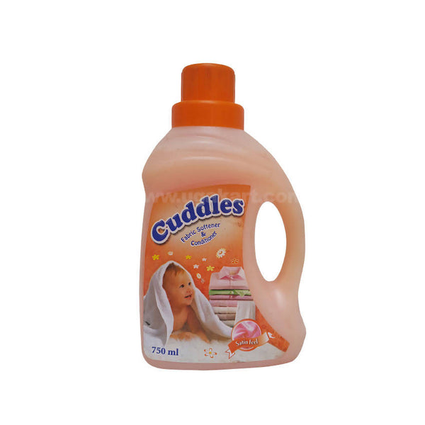Cuddles Fabric Softener & Conditioner Satin Feel_750ml