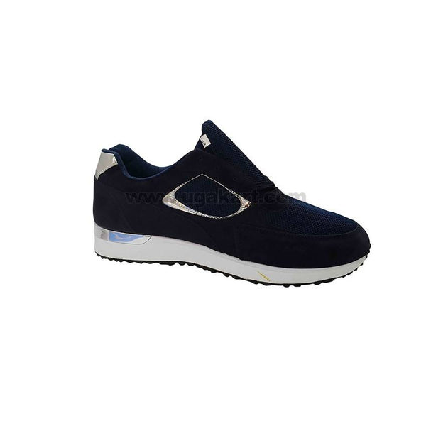 Nevy Blue & White Sneakers Shoe