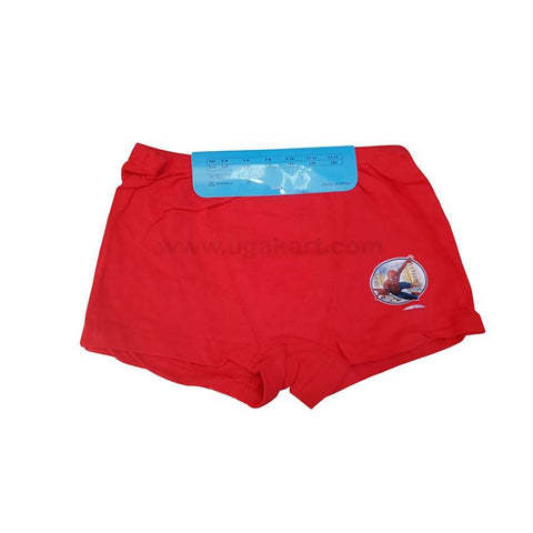 Red Underware/Panties For Boys_2Pc_6Yrs To 10Yrs