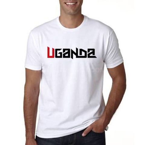 Uganda Men's T-Shirt - White