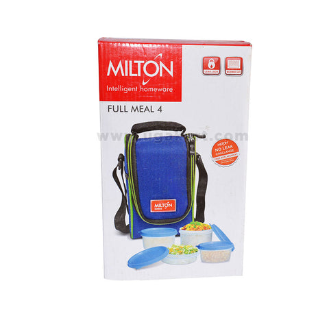 Milton-Full-Meal-4-Lunch-Box-with--Bag-Case