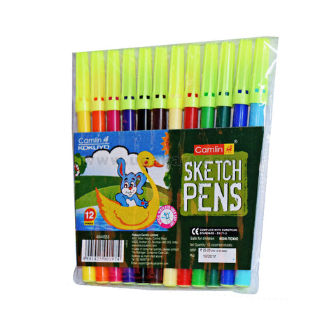 Camlin Sketch Pens (12 shades)
