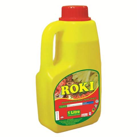 ROKI VEGETABLE COOKING OIL 1L