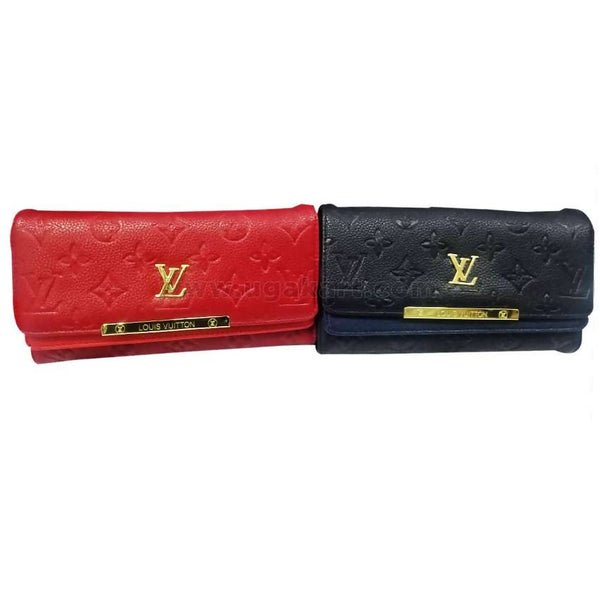 Ladies Clutch VL Fashion - Black and Red (Price Per Each)