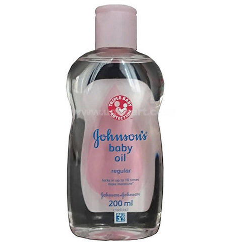 Johnsons Baby Regular Oil -200ml