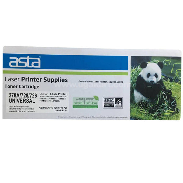 Asta Toner Cartridge For Laser Printer 278A / 728 / 726