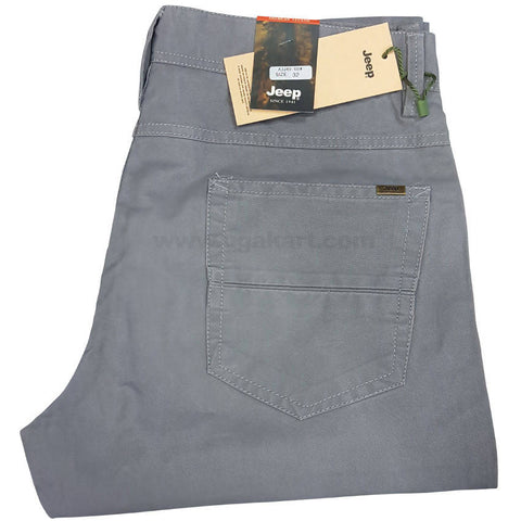 Dark Grey Color Trouser For Men