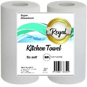 ROYAL KITCHEN TOWEL-2 ROLLS