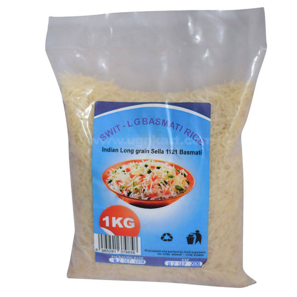 SWIT-LG Basmati Rice Indian Long Grain Sella 1121 Basmati_1KG