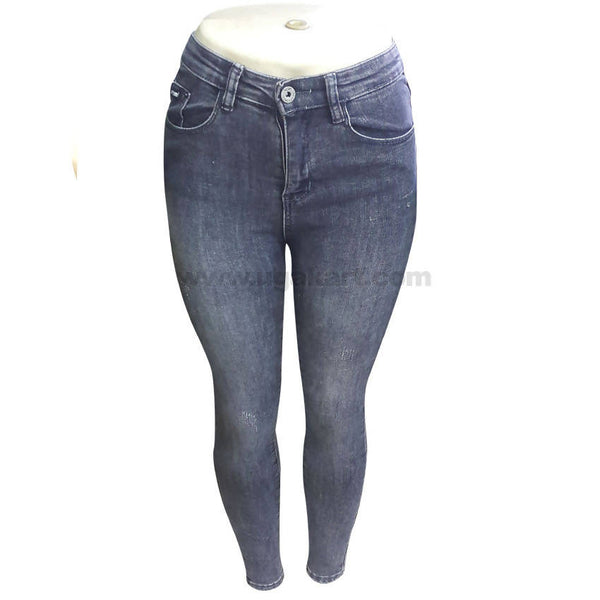 Black Faded Women's Jean